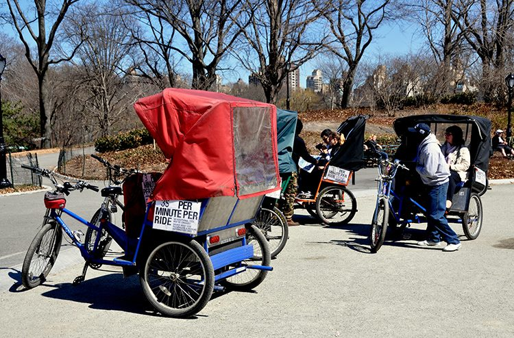 Pedicabs NYC Central Park